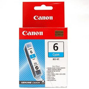 Canon BCI-6 Photo Cyan Printer Ink Cartridge