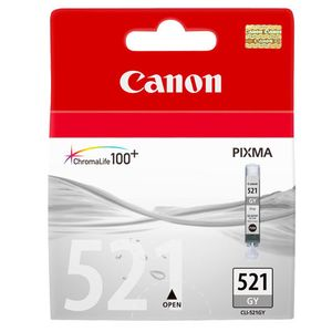 Canon CLI-521 Grey Printer Ink Cartridge