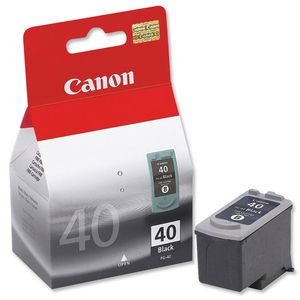 Canon PG40 Black Printer Ink