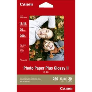 Canon PP-201 7x5 Gloss Photo Paper - 20 Sheets