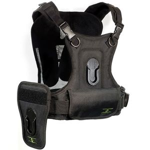 Cotton Carrier 124RTL-D Vest Unit and Side Holster for 2 Cameras
