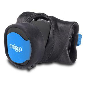 Miggo Grip & Wrap Black and Blue Carrying Strap for CSC Cameras