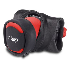 Miggo Grip & Wrap Black and Red Carrying Strap for CSC Cameras