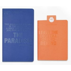 Lomography ChapBook Blue and Orange Photo Album Set 1