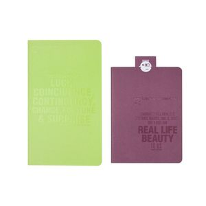 Lomography ChapBook Lime and Purple Photo Album Set 4