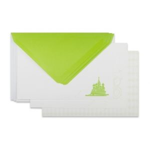 Lomography Friendship Image Cards Square 1 - Lime