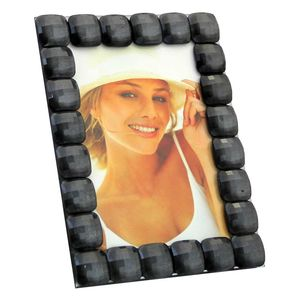 Elisa Black Glass 6x4 Photo Frame