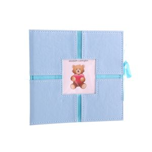 Ashton Baby Blue 6x4 Slip In Photo Album - 160 Photos