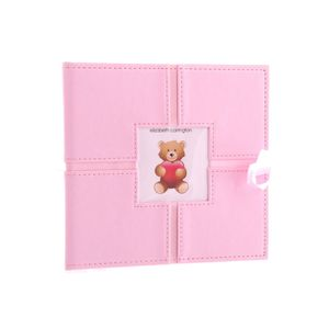 Ashton Baby Pink 6x4 Slip In Photo Album - 160 Photos