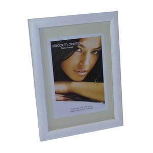 Chelsea White Wood 7x5 Photo Frame