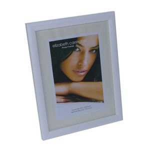 Chelsea White Wood 8x6 Photo Frame