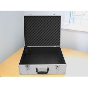 Ex-Demo Dorr Alu 1 Silver Aluminium Case - No Foam