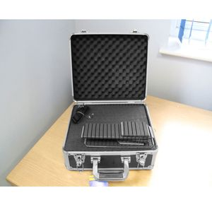 Ex-Demo Dorr Black 38 Aluminium Case with Foam and Dividers