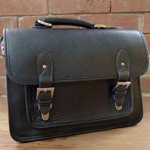 Ex-Demo ONA Brooklyn Black Leather Shoulder Bag