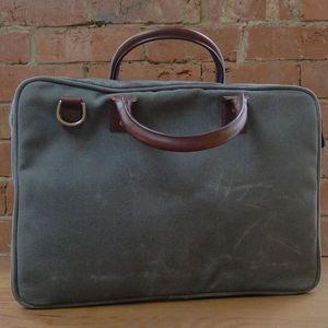Ex-Demo ONA Kingston Smoke Briefcase Bag