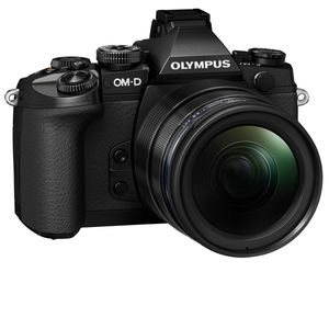 Ex-Display Olympus OM-D E-M1 Digital Camera Black with 12-40mm Lens Pro Kit