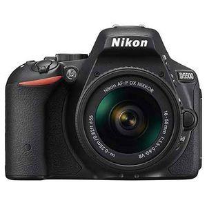 Ex-Demo Nikon D5500 Digital SLR Black Camera with 18-55mm G AF-P VR