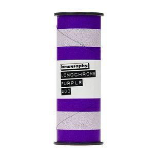 Lomography LomoChrome Purple XR 100-400 120 Film