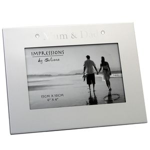 Two Tone Mum and Dad 6x4 Photo Frame