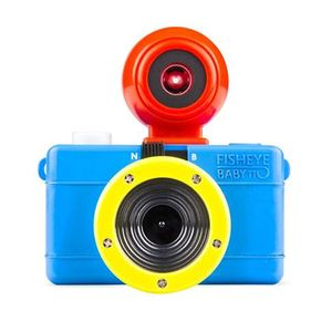 Lomography Fisheye Baby 110 Camera Bauhaus