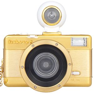 Lomography Fisheye 2 Gold Edition 35mm Camera