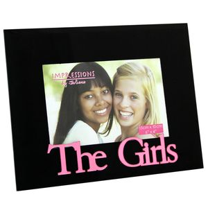 The Girls 6x4 Black Photo Frame