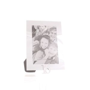 16th Birthday Glass and Mirror 6x4 Photo Frame