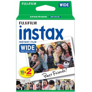 Fujifilm Instax Instant Wide Film - Twin Pack (20 Photos)