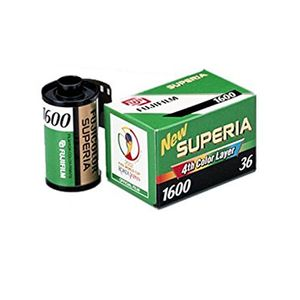 Fujifilm Superia 1600 36 Exp Colour Print Film