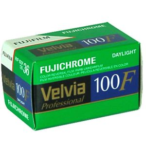 Fujifilm Velvia 100F 36 Exp Colour Slide Film