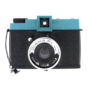 Lomography Diana F+ Black and Blue Medium Format Camera
