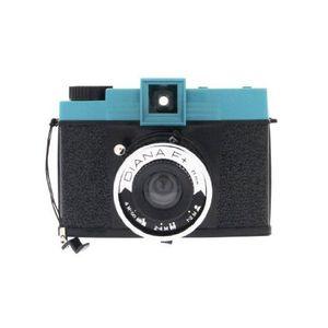 Lomography Diana F+ Black and Blue Instant Film Camera