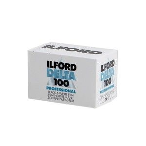 Ilford Delta 100 36 Exp Black & White Print Film