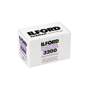 Ilford Delta 3200 36 Exp Black & White  Print Film