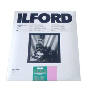Ilford Multigrade Fibre Base 10x8 Gloss Paper - 25 Sheets