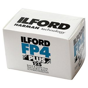 Ilford FP4 36 Exp Black & White Print Film