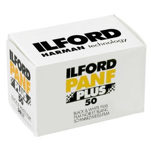 Ilford Pan F Plus 35mm Black & White Print Film