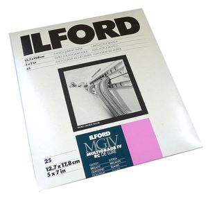 Ilford Multigrade 7x5 Gloss Paper - 25 Sheets