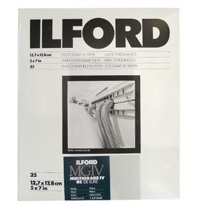 Ilford Multigrade 7x5 Pearl Paper - 25 Sheets