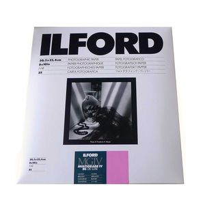 Ilford Multigrade 10x8 Gloss Paper - 25 Sheets
