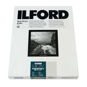 Ilford Multigrade 10x8 Pearl Paper - 100 Sheets