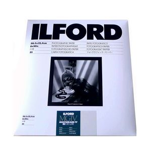 Ilford Multigrade 10x8 Pearl Paper - 25 Sheets
