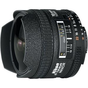 Nikon 16mm f2.8D AF Fisheye Nikkor Lens