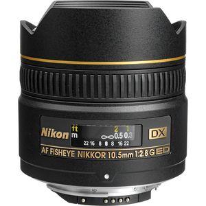 Nikon 10.5mm f2.8G AF DX IF-ED Fisheye Lens
