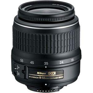 Nikon 18-55mm f3.5-5.6G II AF-S DX Black Lens