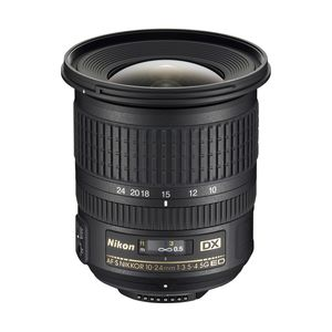 Nikon 10-24mm f3.5-4.5G AF-S DX  Lens