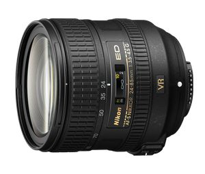 Nikon AF-S NIKKOR 24-85mm f/3.5-4.5G ED VR Lens