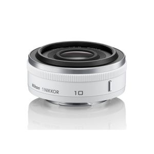 Nikon 10mm f2.8 1 NIKKOR White Lens