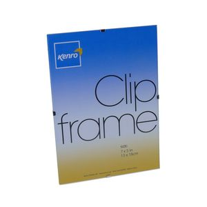 Clip A4 Photo Frame