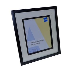 Ambassador Black Wood 10x8 Photo Frame